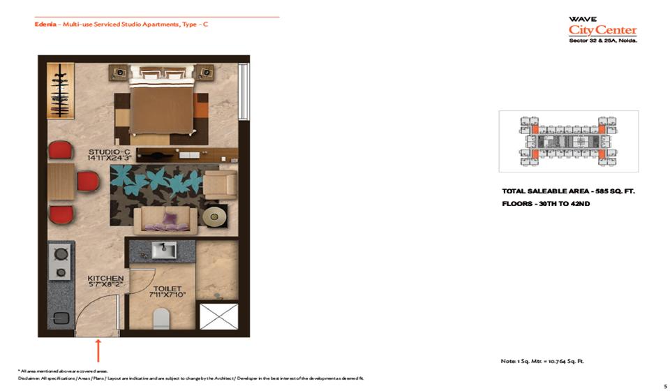 Wave Edenia Floor Plans 4