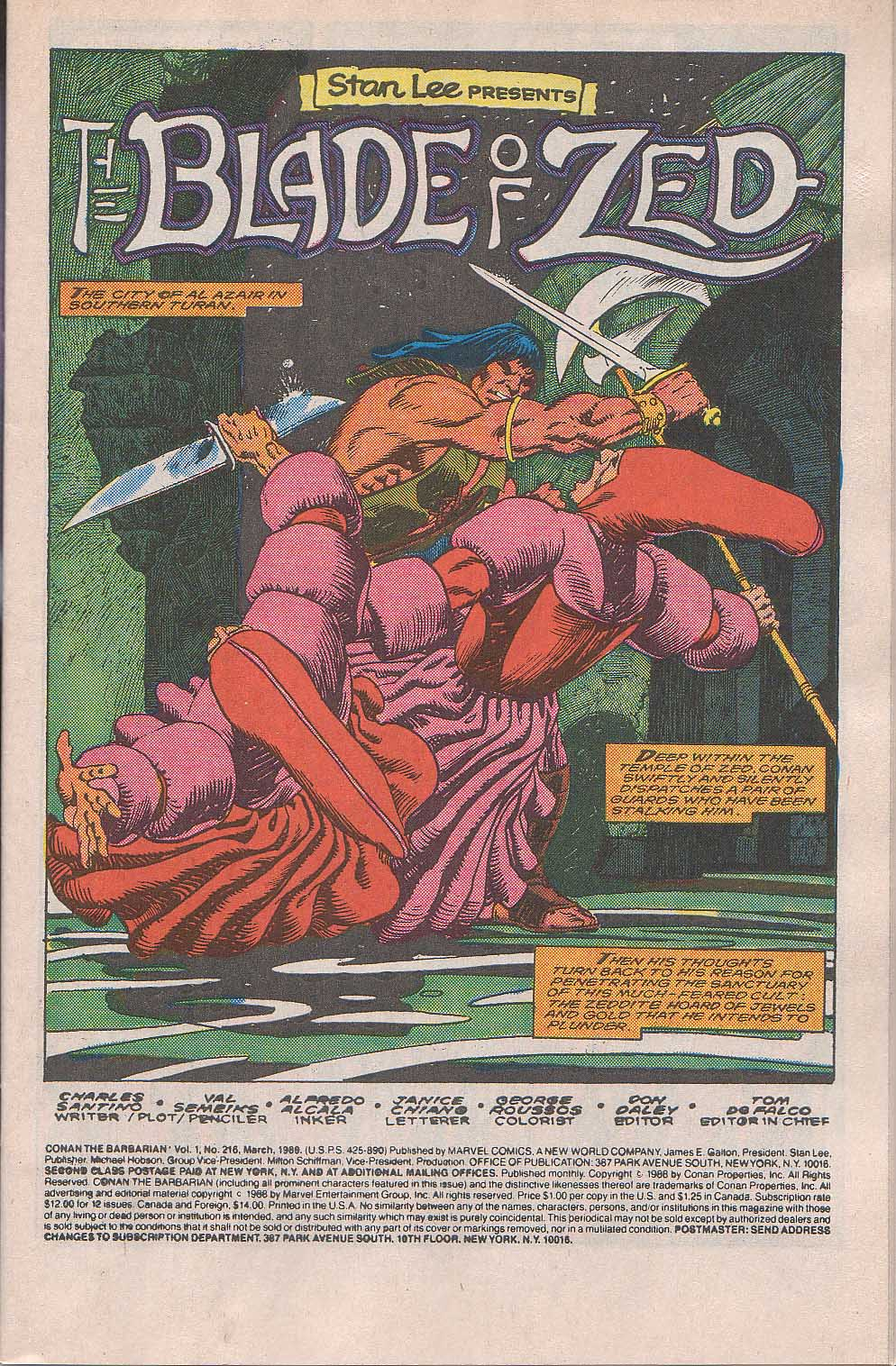 Conan the Barbarian (1970) Issue #216 #228 - English 2