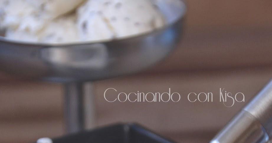 Cocinando con kisa helado de stracciatella forma for Cocinando 15 minutos con jamie