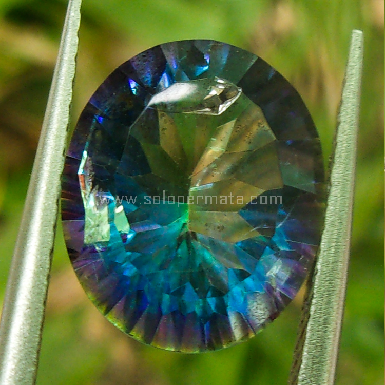 Batu Permata Blue Quartz - SP859
