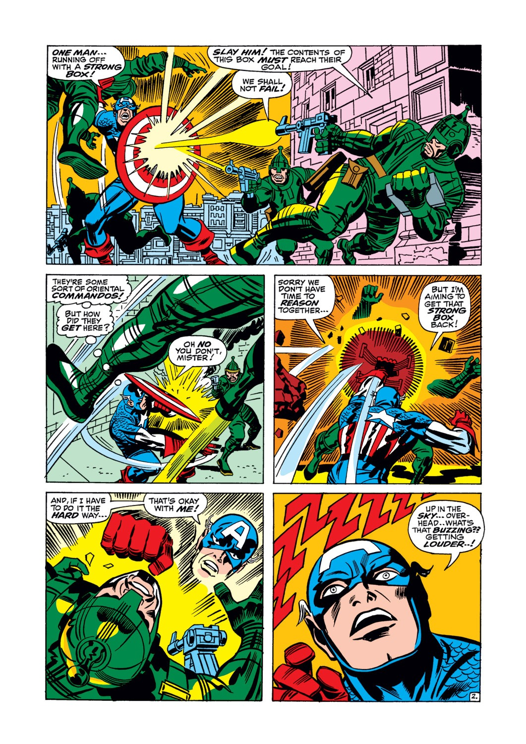 Captain America (1968) Issue #106 #20 - English 3