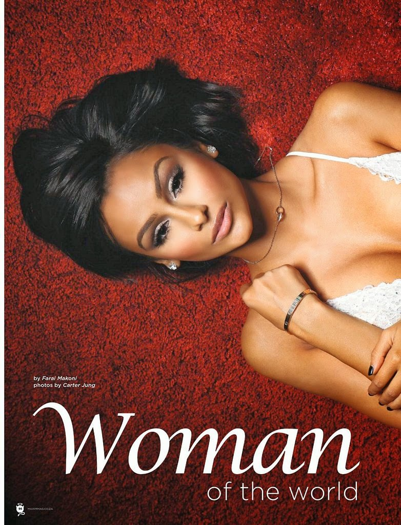 Nazanin Mandi For Maxim Magazine South Africa, April 2014