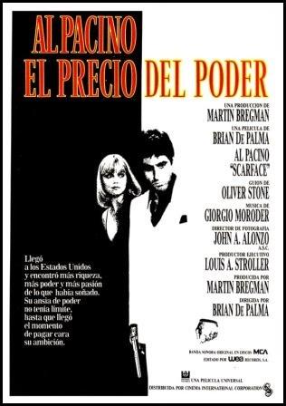 El precio del poder (Scarface, de Brian de Palma, 1983)