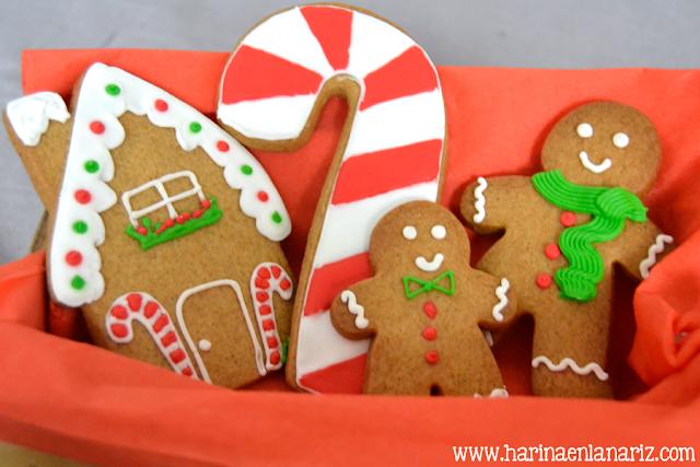 receta gingerbread cookies