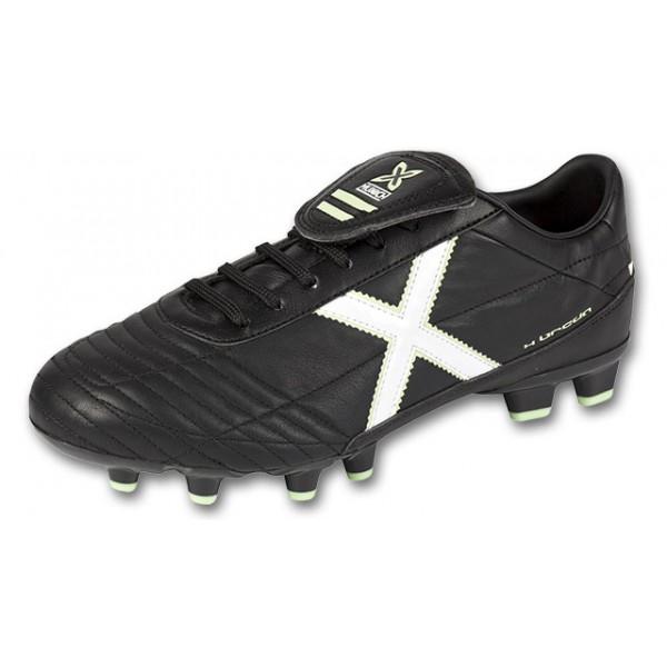 Botas de futbol de piel para ni?o