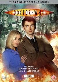 Carátula de la segunda temporada de Doctor Who en DVD
