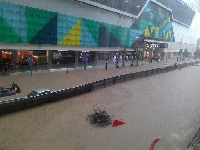 Banjir Di Johor Bahru1