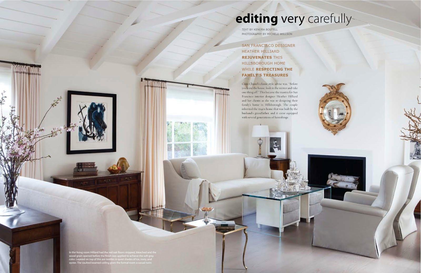 Editing Very Carefully California Homes Magazine June 2012