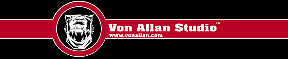 Von Allan's art, comics and graphic novels
