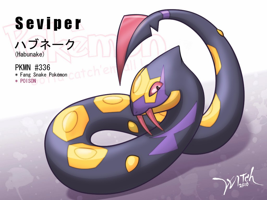 in pok  233 mon x wild seviper can only be found in hordes of zangoose on    Zangoose And Seviper Horde