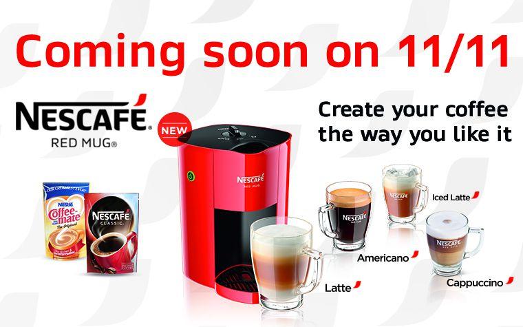 Coffee Mate Coffee Maker Not Working : NESCAFE Red Mug audrey.isms