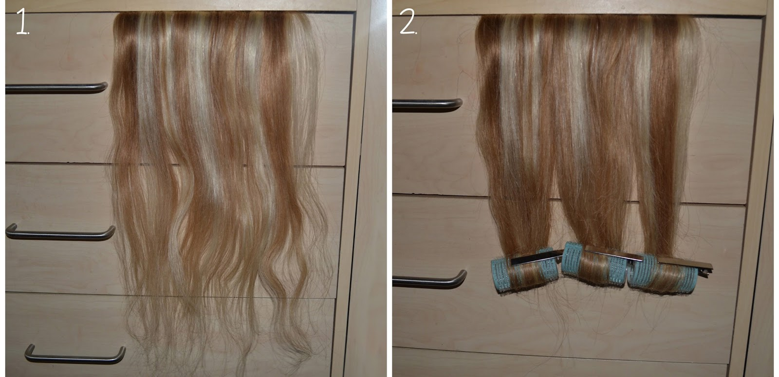How To Curl Hair Extensions Without Heat