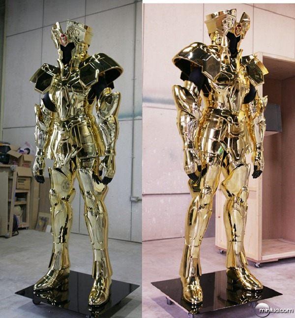 Cavaleiros do Zodíaco - Armaduras Tamanho Real 19