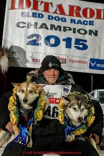 Iditarod Winner!