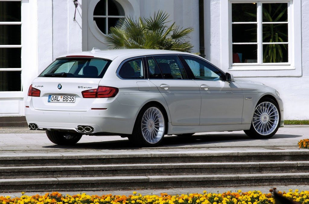 BMW ALPINA B5 BITURBO TOURING HD WALLPAPERS