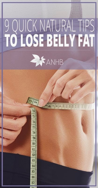 9 Natural Tips to Lose Belly Fat