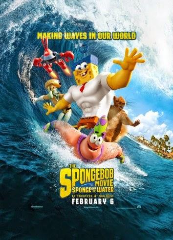 The Spongebob Movie: Sponge out of water (BRRip 720p Dual Latino / Inglés) (2015)