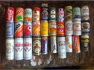 ... de coleccionar Latas Refrigerante e Cervejas