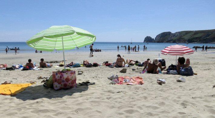 La plage du Veryac'h