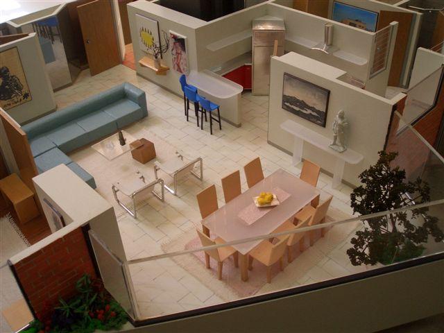 Apartamento Modelo ESC 1:20