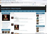 MyZone proiect blog