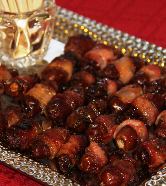Bacon wrapped dates recipe in Brisbane