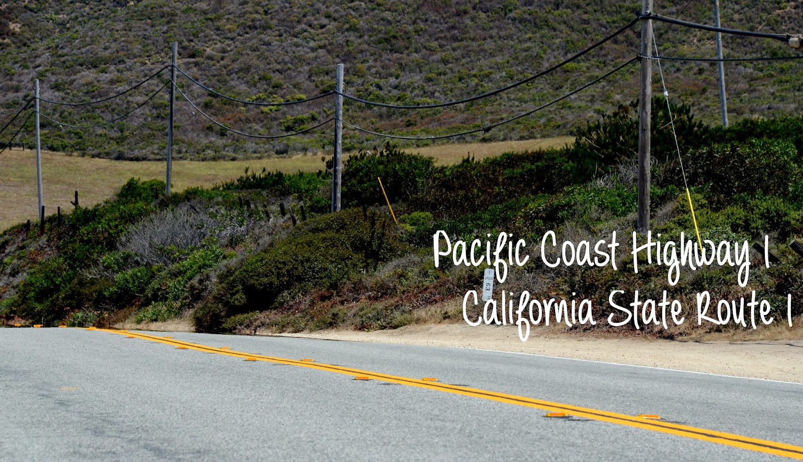 Pacific Coast Highway 1 - California State Route 1 - USA