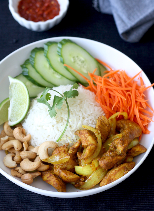 Vietnamese Sweet & Spicy Chicken Stir Fry by SeasonWithSpice.com