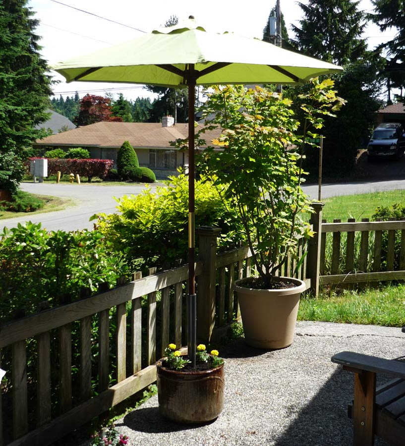 Umbrella Stand Designs : Gone thrifting creative ideas for patio umbrellas