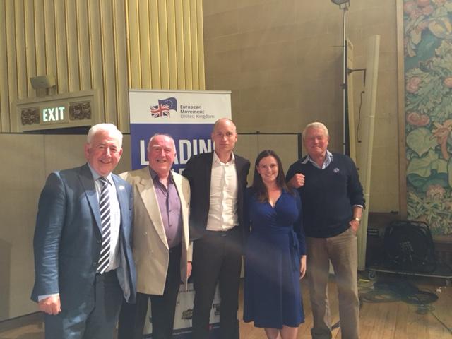 Gwynoro, Stephen Kinnock, Paddy Ashdown a Dafydd Wigley