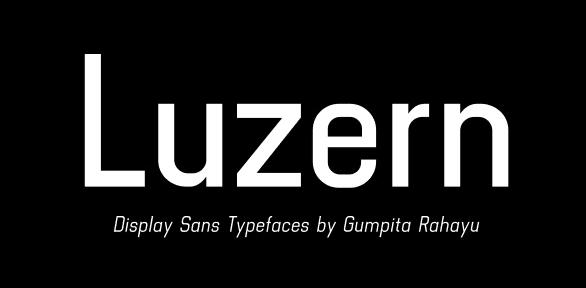Luzern Type Family