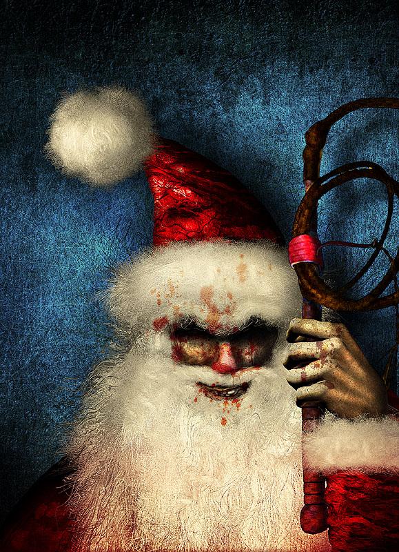 Santa Claus malo