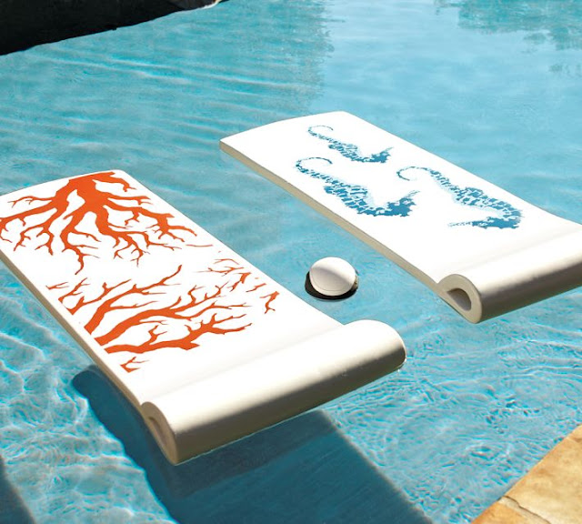 Coral & Sea Horse Floats for Beach or Pool