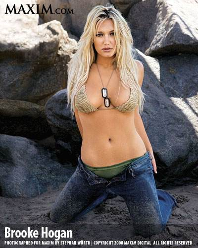 Actress Brooke Hogan
