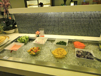 Salad Bar at Steak Restaurant at Dream Mall Kaohsiung