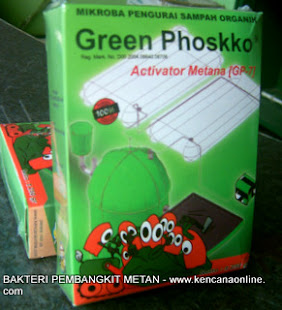 Green Phoskko [ GP-7] Biogas Activator