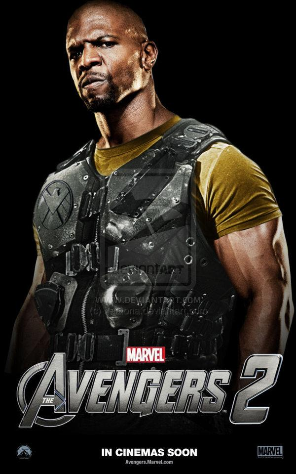 Fan art de Terry Crews como Luke Cage en The Avengers 2 (Los Vengadores 2)