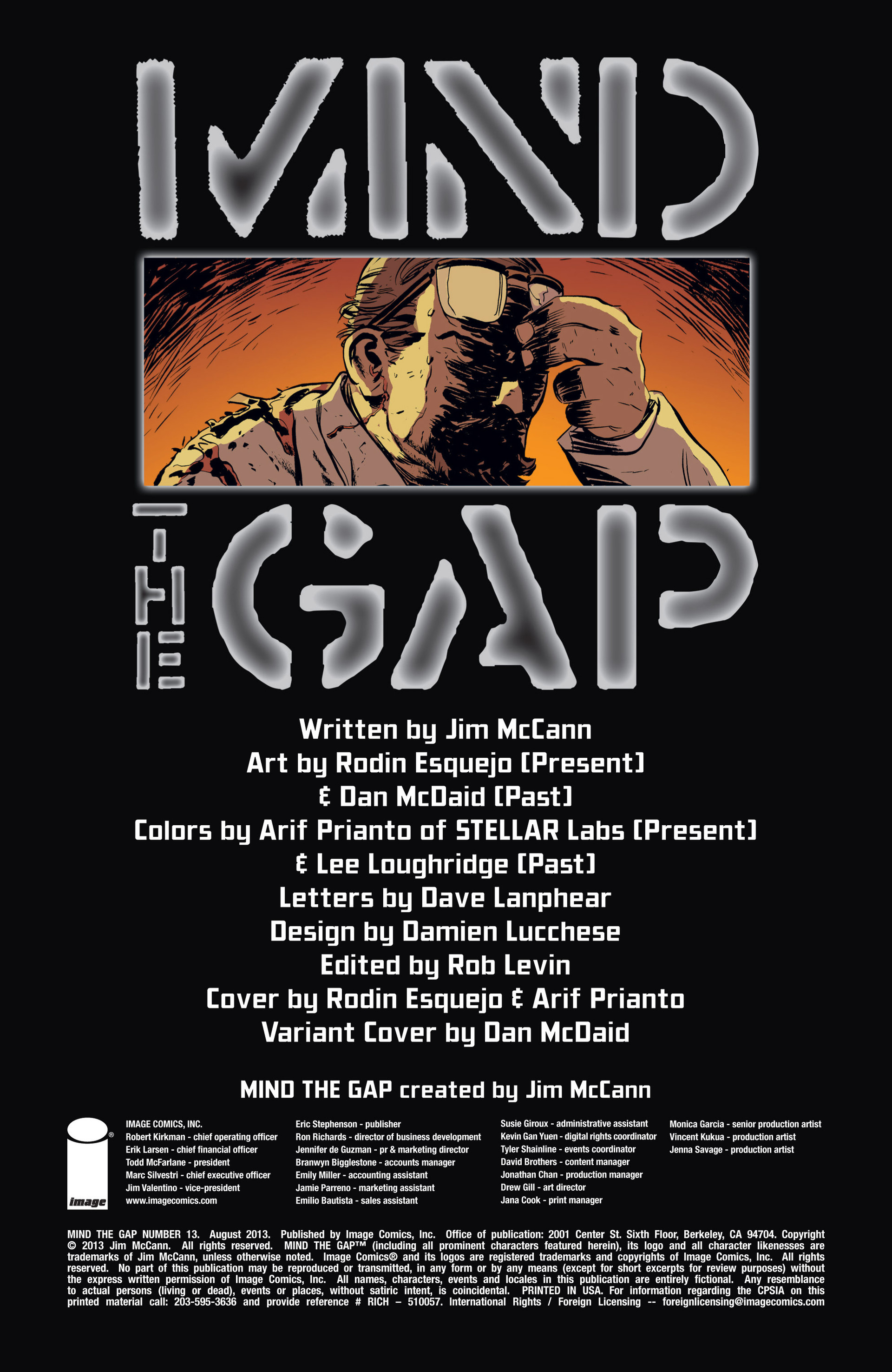 Read online Mind The Gap comic -  Issue #13 - 2