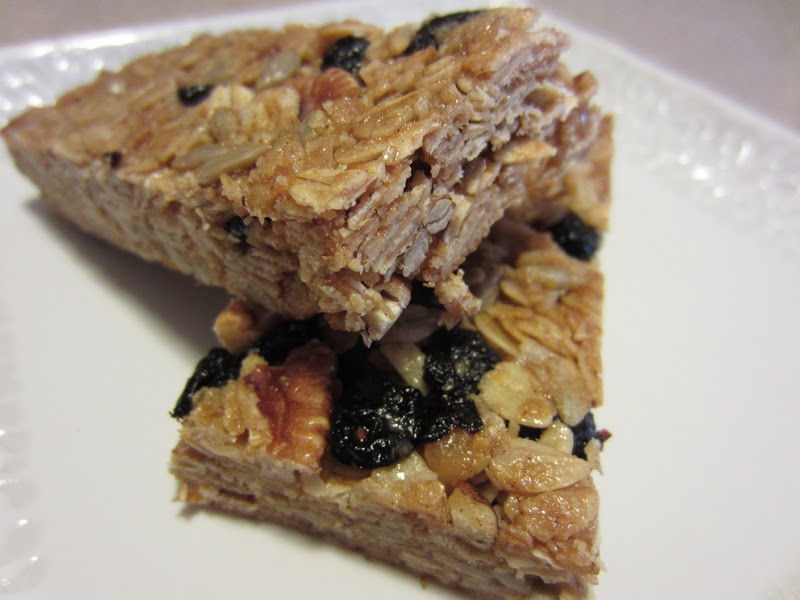 Crunchy/Chewy Granola Bars