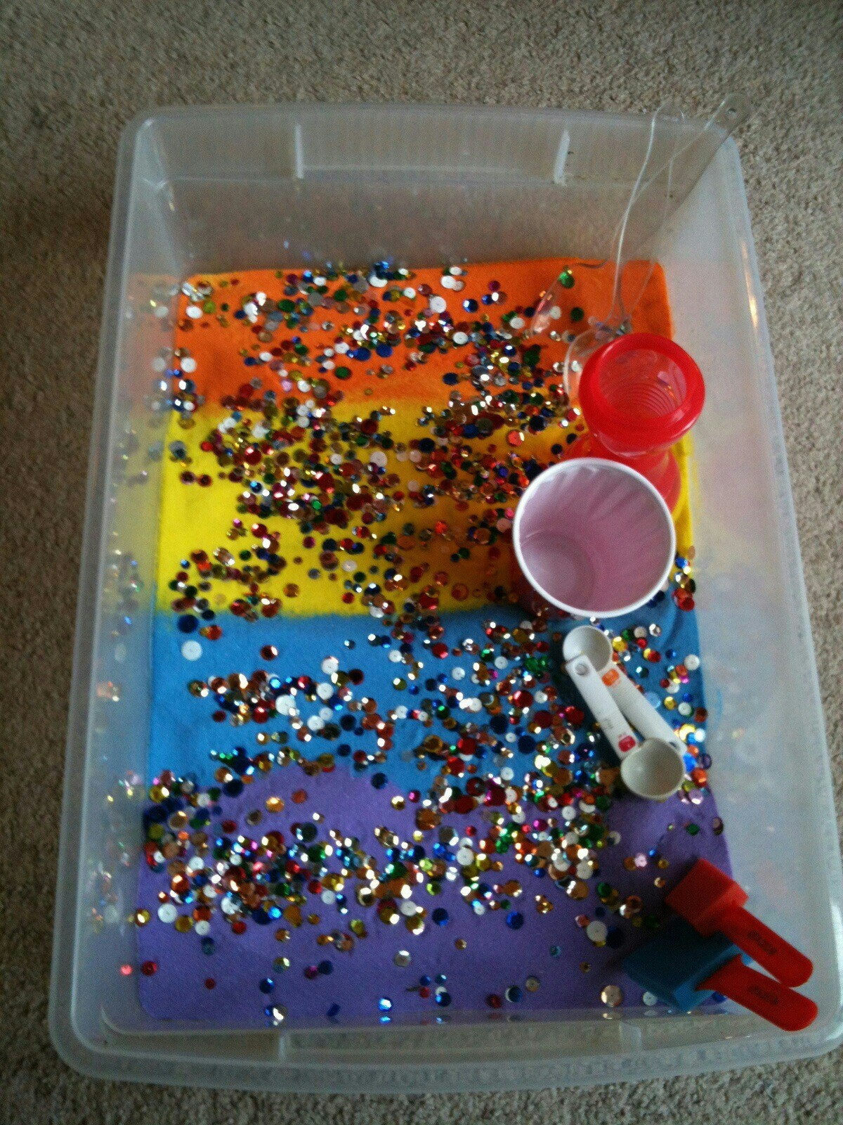 for the love of learning  sensory bins