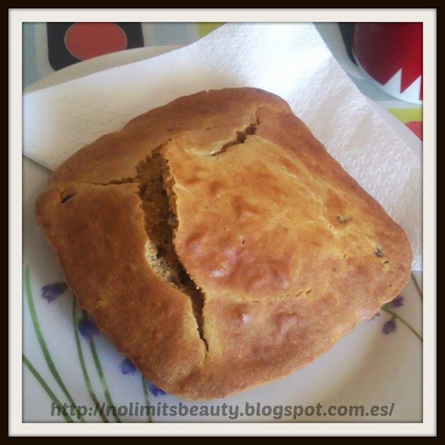 Pan de Avena y Pasas