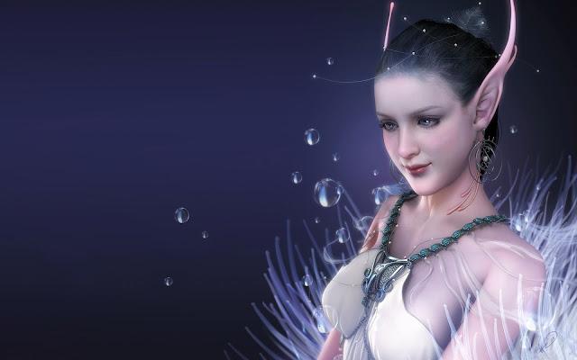 Fantasy Elf Girl