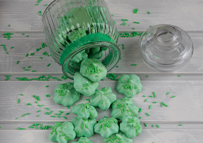 Merengues de limón verde