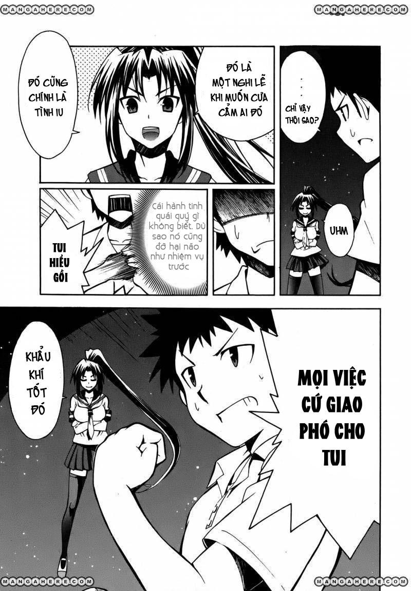 Meteo-san Sutoraiku desu! chap 2 - Trang 16