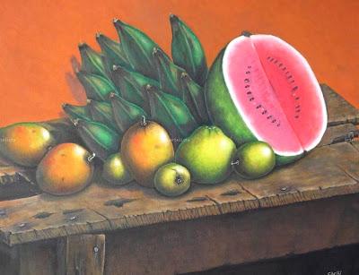 pintura-al-oleo-de-sandia