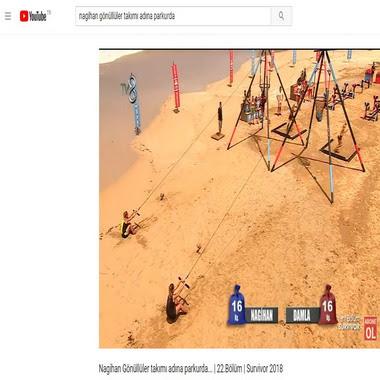 youtube com - nagihan gönüllüler takımı adına parkurda
