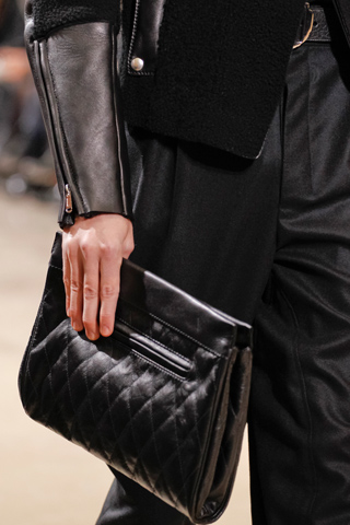 Gentleman Style: Yves Saint Laurent Mens Clutch Bag Fall 2012