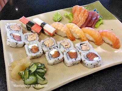 Sho-Ya Sushi Bar: Combinado Saitama