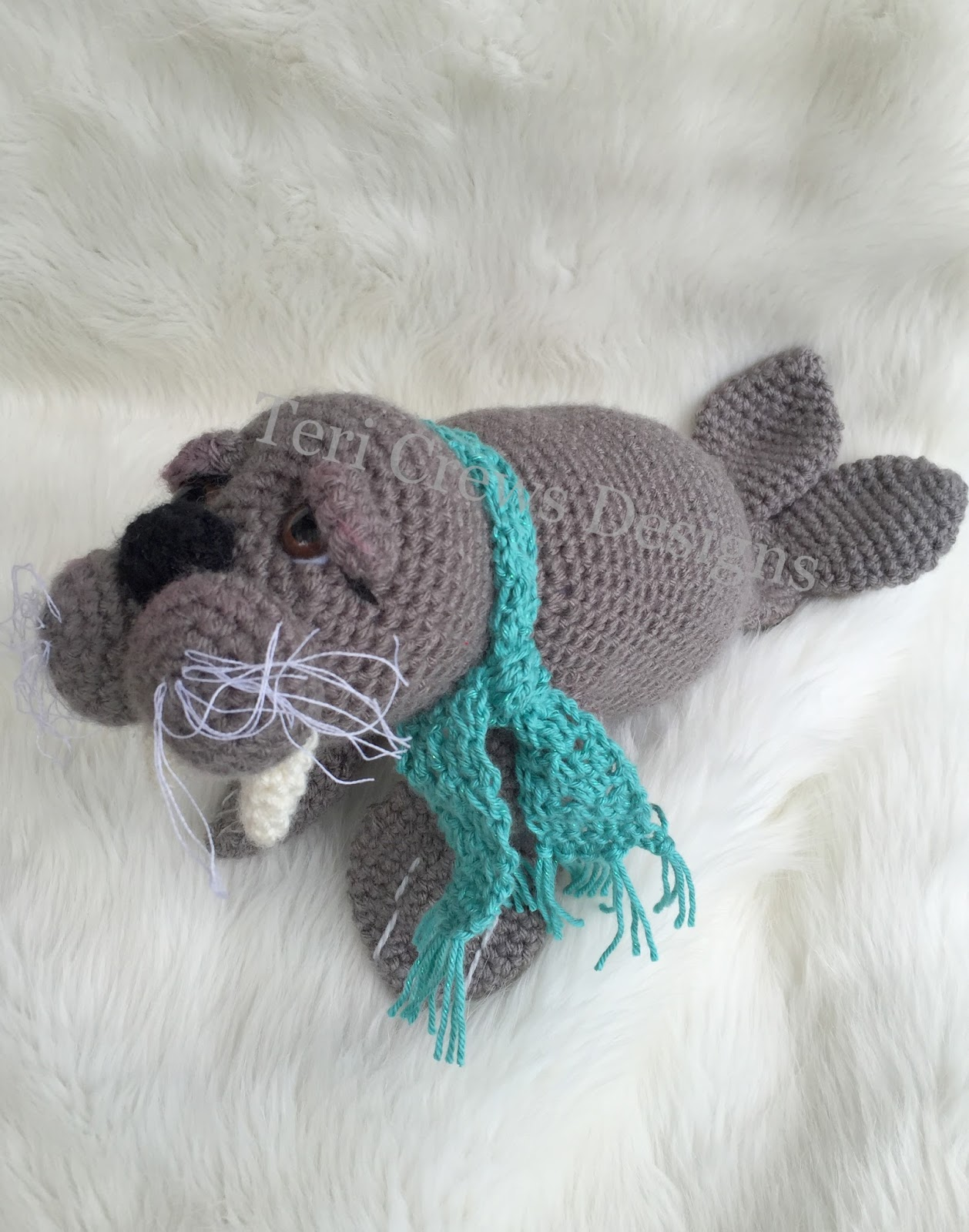 Teris Blog New Cute Walrus Pattern