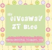 1st Giveaway Zanariah Tap Blog